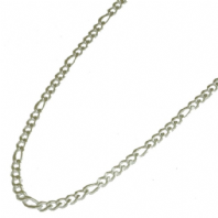 Silver tone necklace (Code 0603)